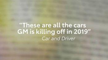 Toyota TV Spot, 'Cars That Dominate the Road' [T2] - Thumbnail 3
