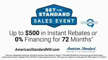 American Standard Set the Standard Sales Event TV Spot, 'Problems That Actually Matter: Remote' - Thumbnail 7