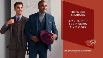 K&G Fashion Superstore Fall Fashion Event TV Spot, 'Suit Separates, Suits and Dress Shirts' - Thumbnail 3