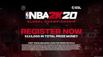 NBA 2K20 Championship TV Spot, 'Play Now' Song by The Seige - Thumbnail 9