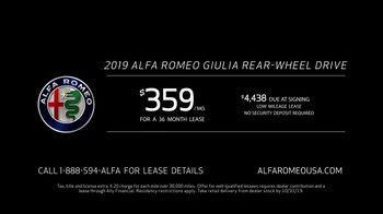 Alfa Romeo TV Spot, 'Revel in Speed: I Am' [T2] - Thumbnail 9