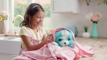 Scruff-a-Luvs Real Rescue Electronic Pet TV Spot, 'Reactions and Sounds'