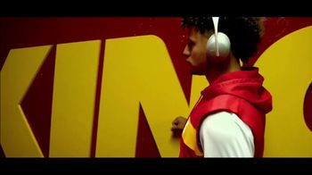 Bose TV Spot, \'Headphones On, Head Up.\' Featuring Patrick Mahomes, Song by Oh the Larceny