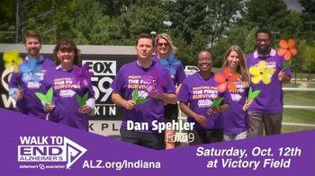 Alzheimer's Association of Indiana TV Spot, 'FOX 59: Walk to End Alzheimer's at Victory Field' - Thumbnail 1