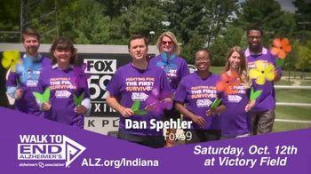 Alzheimer's Association of Indiana TV Spot, 'FOX 59: Walk to End Alzheimer's at Victory Field' - Thumbnail 2