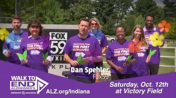 Alzheimer's Association of Indiana TV Spot, 'FOX 59: Walk to End Alzheimer's at Victory Field' - Thumbnail 3