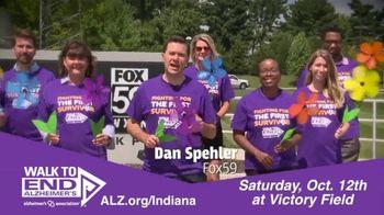 Alzheimer's Association of Indiana TV Spot, 'FOX 59: Walk to End Alzheimer's at Victory Field' - Thumbnail 4