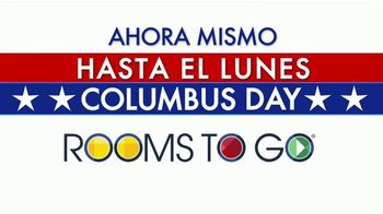 Rooms to Go TV Spot, '2019 Columbus Day: ahora mismo' [Spanish] - Thumbnail 2