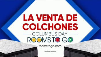 Rooms to Go Venta de Colchones de Columbus Day TV Spot, 'Una cama más grande' [Spanish] - Thumbnail 10