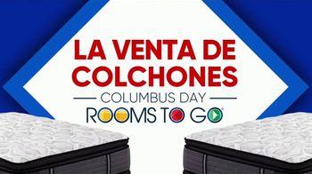Rooms to Go Venta de Colchones de Columbus Day TV Spot, 'Una cama más grande' [Spanish] - Thumbnail 2