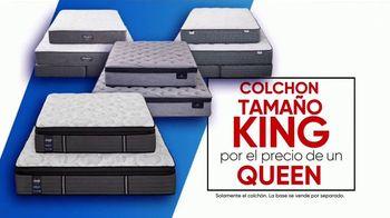 Rooms to Go Venta de Colchones de Columbus Day TV Spot, 'Una cama más grande' [Spanish] - Thumbnail 3