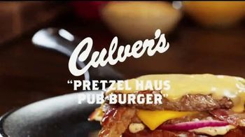 Culver\'s Pretzel Haus Pub Burger TV Spot, \'Perfect\'
