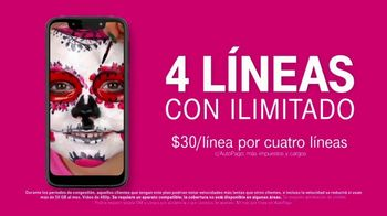 T-Mobile Unlimited TV Spot, 'Señal: $30 dólares por línea' [Spanish] - Thumbnail 7
