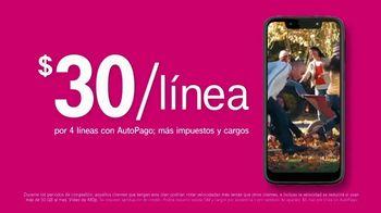 T-Mobile Unlimited TV Spot, 'Señal: $30 dólares por línea' [Spanish] - Thumbnail 3