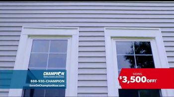 Champion Windows TV Spot, 'Transform Your Home: Siding' - Thumbnail 3