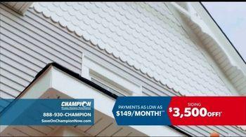 Champion Windows TV Spot, 'Transform Your Home: Siding' - Thumbnail 4