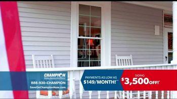 Champion Windows TV Spot, 'Transform Your Home: Siding' - Thumbnail 5