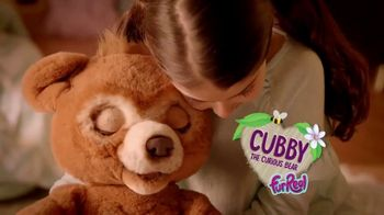 FurReal Friends Cubby the Curious Bear TV Spot, 'Take Care'