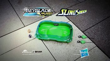 Beyblade Burst Turbo Slingshock Cross Collision Battle Set TV Spot, 'Let It Rip' - Thumbnail 10