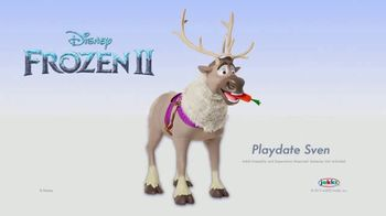 Disney Frozen II Playdate Sven TV Spot, 'Give Me a Snack' - Thumbnail 9