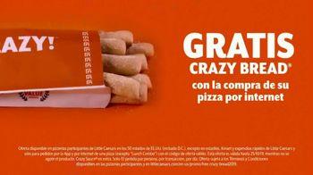 Little Caesars Pizza TV Spot, 'Crazy Bread gratis' [Spanish] - Thumbnail 7