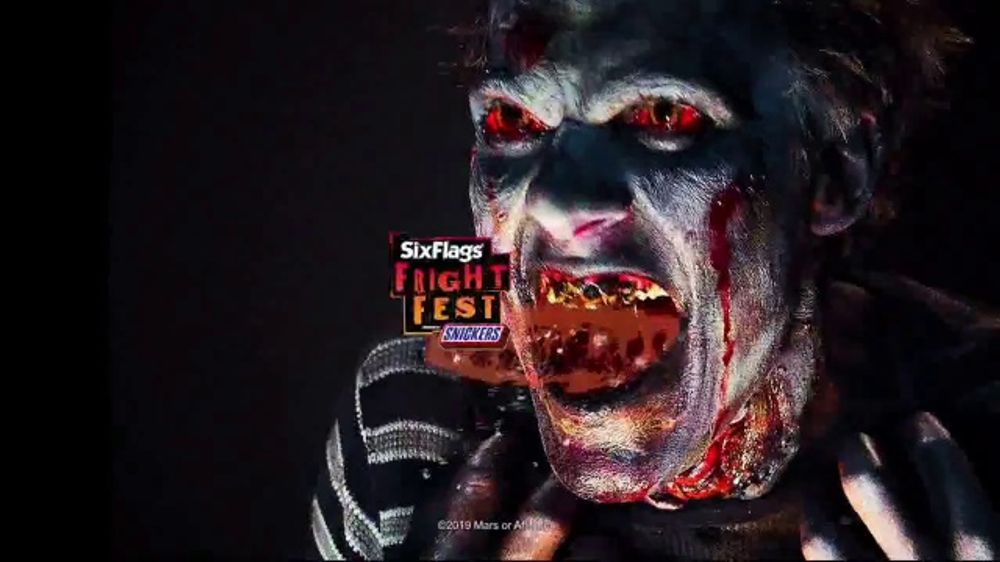 Six Flags Fright Fest TV Commercial, 'More Zombies'