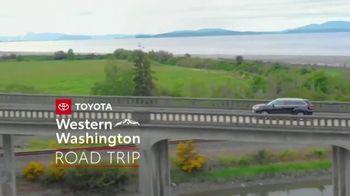 2019 Toyota Highlander TV Spot, 'Western Washington Road Trip' Feat. Danielle Demski, Ethan Erickson [T2] - Thumbnail 2