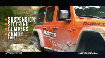 Rusty's Off-Road Products TV Spot, 'Jeep Ready' - Thumbnail 4