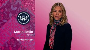 Ford Warriors in Pink TV Spot, 'Scarf' Featuring Maria Bello