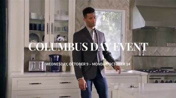JoS. A. Bank Columbus Day Event TV Spot, 'Dress Shirts and Suits'