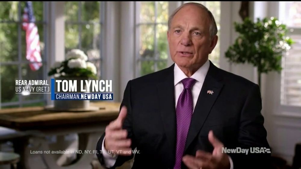 NewDay USA TV Commercial, 'Noble Purpose' Featuring Tom Lynch