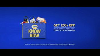 NAPA Auto Parts Bag Sale TV Spot, 'Very Cool' - Thumbnail 2