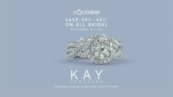 Kay Jewelers Poptober TV Spot, 'OMG Yes: 20-40 Percent Off Bridal' Song by Harriet Whitehead - Thumbnail 10