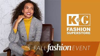 K&G Fashion Superstore Fall Fashion Event TV Spot, 'Dresses, Suits and Suit Separates' - Thumbnail 2