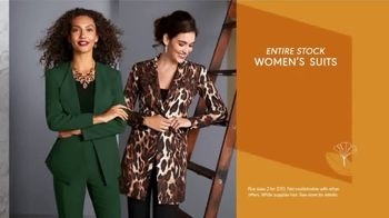 K&G Fashion Superstore Fall Fashion Event TV Spot, 'Dresses, Suits and Suit Separates' - Thumbnail 5