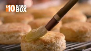 Popeyes $10 Tenders Box TV Spot, 'A Tasty Feast for Two' - Thumbnail 3