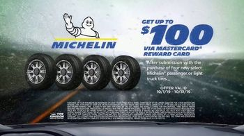 Tire Kingdom Big Brands Bonus Month TV Spot, 'Michelin Tires: $100 Reward Card' - Thumbnail 7