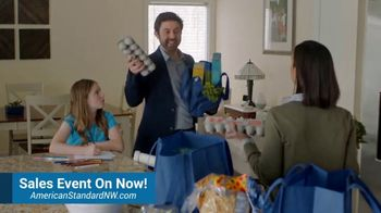 American Standard Set the Standard Sales Event TV Spot, 'Problems That Actually Matter: $500 Rebates' - Thumbnail 5