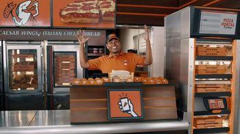 Little Caesars Pizza TV Spot, 'Meet Dad: Free Crazy Bread' - Thumbnail 4