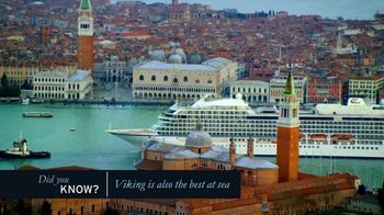 Viking Cruises TV Spot, 'Best at Sea' - Thumbnail 5