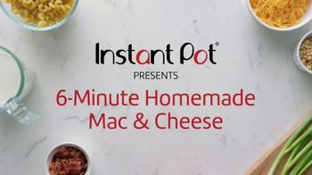 Instant Pot TV Spot, 'Mac & Cheese'