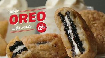 Sonic Drive-In Oreo A La Mode TV Spot, \'Together at Last\'