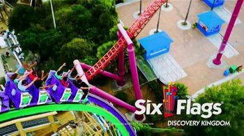 Six Flags Discovery Kingdom TV Spot, 'Head Over Heels: Save Up to $25'
