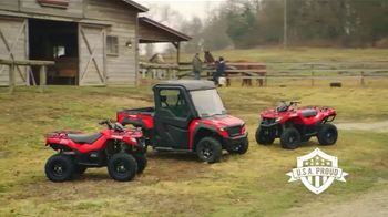 Tracker Off Road TV Spot, 'Next Groundbreaking Idea: Tracker 570 ATV'