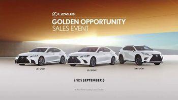 Lexus Golden Opportunity Sales Event TV Spot, 'Safety' [T1] - Thumbnail 9