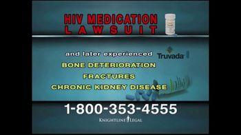 Knightline Legal TV Spot, 'HIV Medication Lawsuit' - Thumbnail 3
