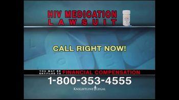 Knightline Legal TV Spot, 'HIV Medication Lawsuit' - Thumbnail 4