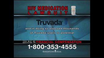 Knightline Legal TV Spot, 'HIV Medication Lawsuit' - Thumbnail 5