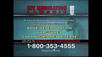 Knightline Legal TV Spot, 'HIV Medication Lawsuit' - Thumbnail 6