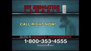 Knightline Legal TV Spot, 'HIV Medication Lawsuit' - Thumbnail 7